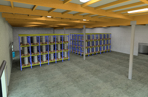 Commercial Warehouse HPC Architecture
